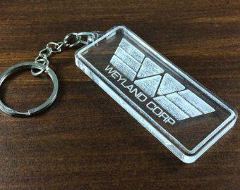 Porte-clés Weyland Corp film Prometheus