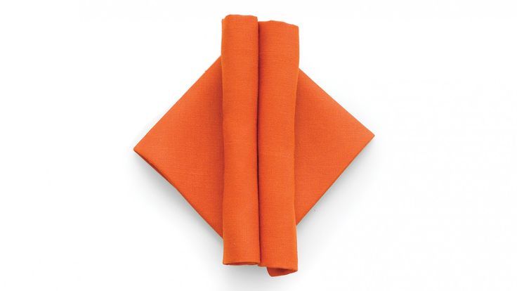 Give your guests something pleasant to behold -- and unroll -- with this striking contemporary napkin fold.