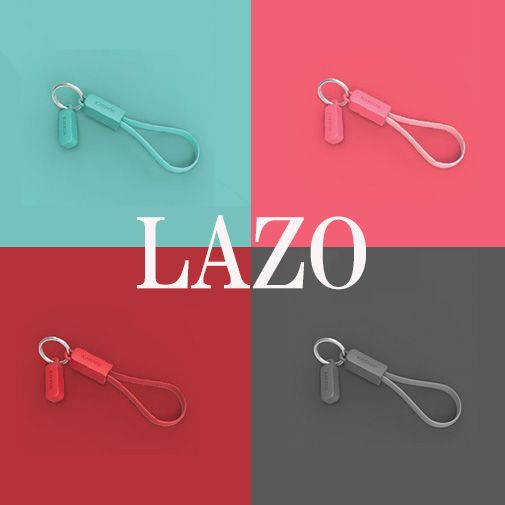 iPhone/Android両対応! 携帯性バツグンの充電ケーブル「LAZO(ラゾ)」|アスキーストア#cable #kakkoii #london #USB #charger #battery #portable