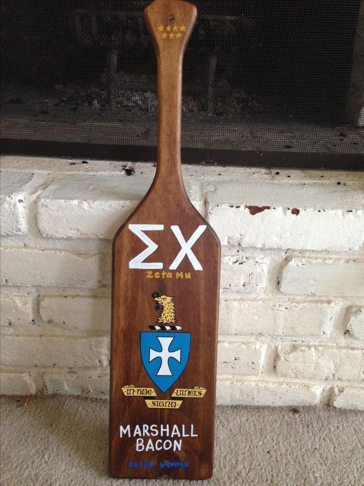 Sigma Chi Fraternity Paddle