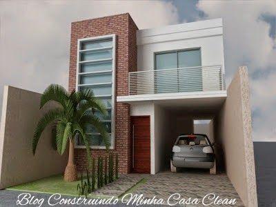 modelos de casas minimalistas pequeñas con garaje