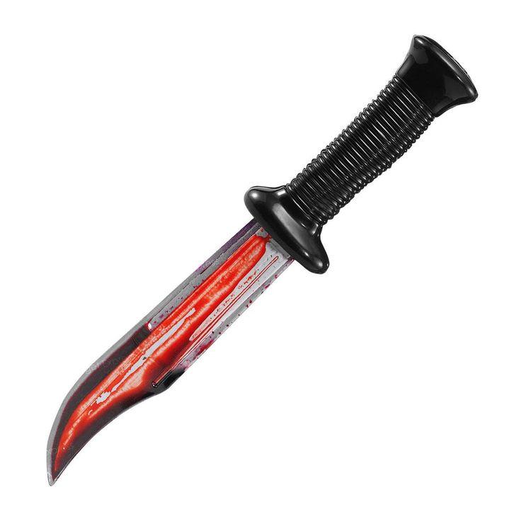 fancydressvip - Bloody Scream Knife Halloween Prop Accessory, £5.99 (http://www.fancydressvip.com/halloween/halloween-accessories/bloody-scream-knife-halloween-prop-accessory/)