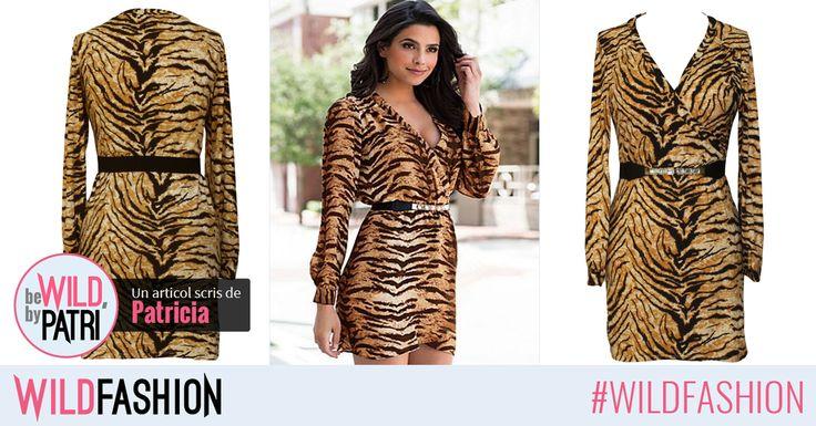 O rochie #wild se cunoaste dupa imprimeu... Esti fana animal print?