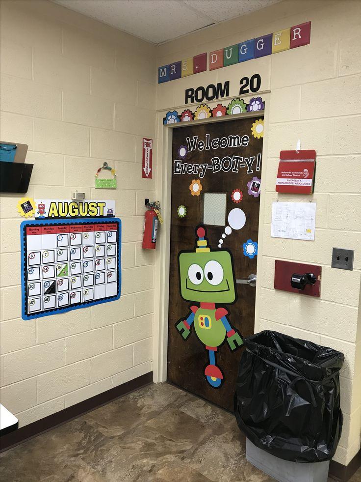 Welcome Every Bot Y Robot Classroom Door Technology