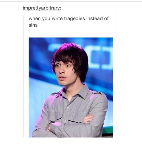 panic! at the disco weird | ... image include: door, funny, panic! at the disco and tumblr text post