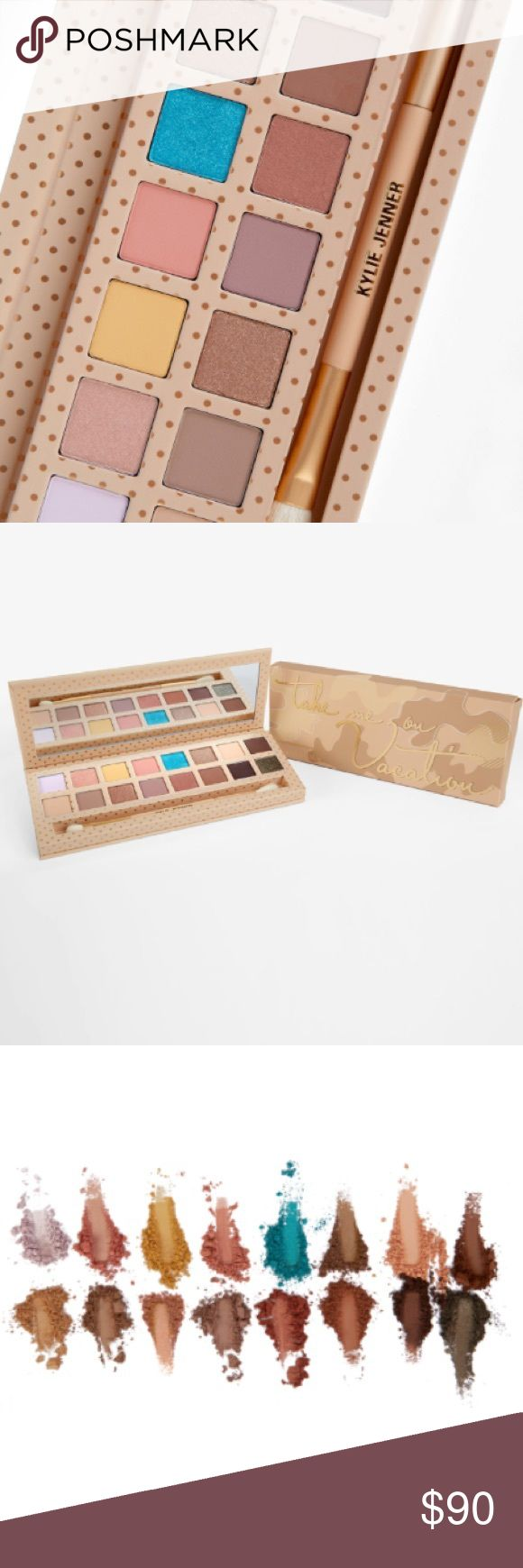 Kylie Vacation Eye Shadow Palette Authentic, never opened or taken out of package, used pics from Kylie's website / Instragram. Will post pics of physical receipt this week. Kylie Cosmetics Makeup Eyeshadow