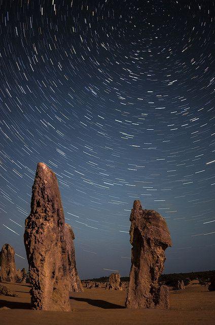 Pinnacles Star Trails - Western Australia | by inefekt69