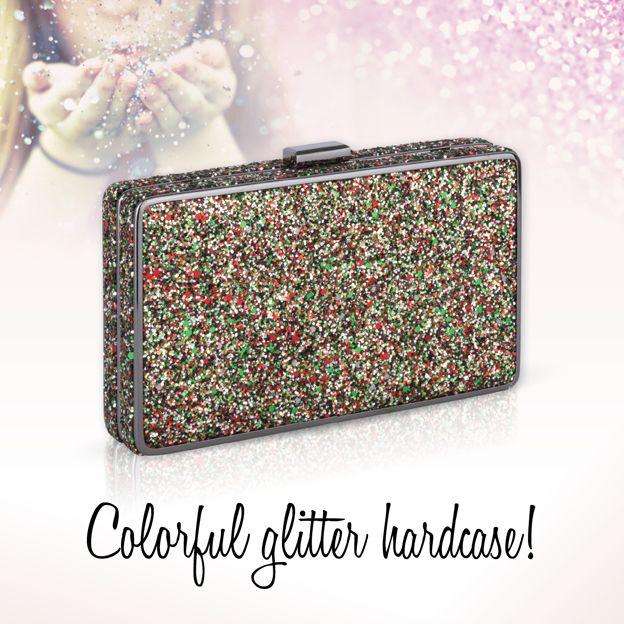 Achilleas accessories |  Colorful glitter hardcase!