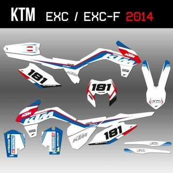 New Kit déco KTM patriot  : http://www.eight-racing.com/fr/kit-deco-ktm-exc/1428-kit-deco-ktm-freenduro-2014-blanc.html