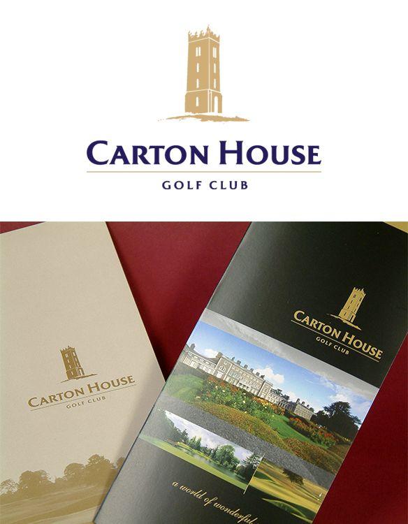 Carton House Golf Club - Identity and Brochure. www.akgraphics.ie