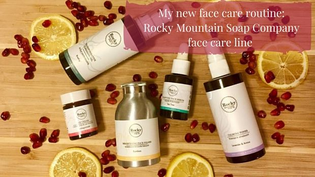 My face care routine is getting a natural face lift from the Rocky Mountain Soap Company. Read all about the products and how they are working for me.