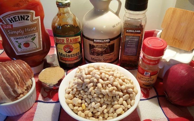 Ingredients - Navy Beans, Molasses, Maple Sugar