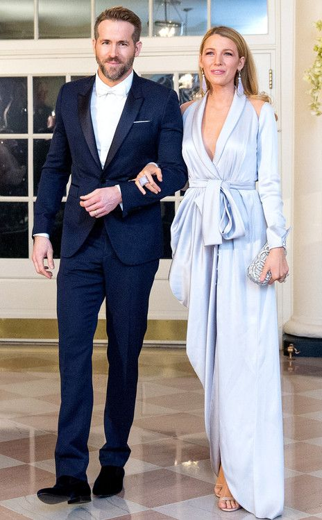 Ryan Reynolds and Blake Lively Are Picture-Perfect at Canada State Dinner on March 10, 2016