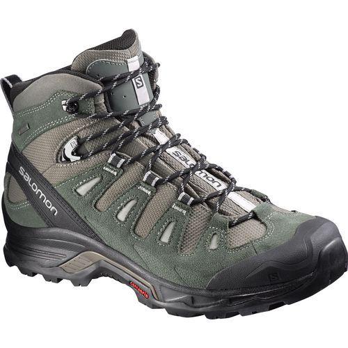 Salomon Men's Quest Prime GTX Hiking Boots (Grey/Black, Size 11.5) - Men's Outdoor at Academy Sports