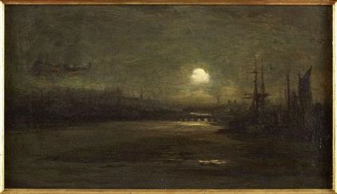 inverness by moonlight by david farquharson