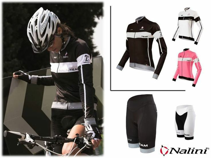 Nalini Lady Pro Team. Warm jersey with raglan sleeves and shorts with anatomical fit.