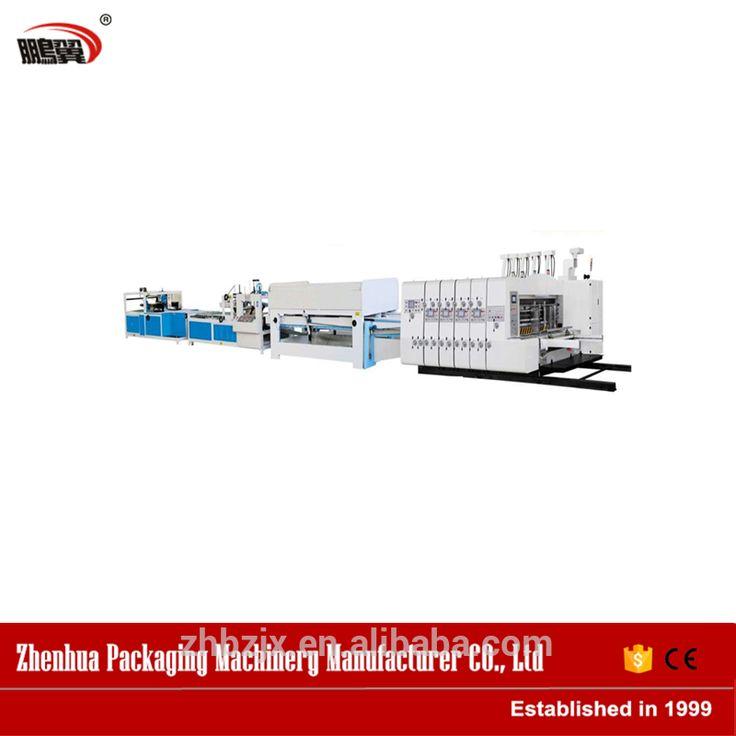 High speed automatic carton box making machine with distribution Price