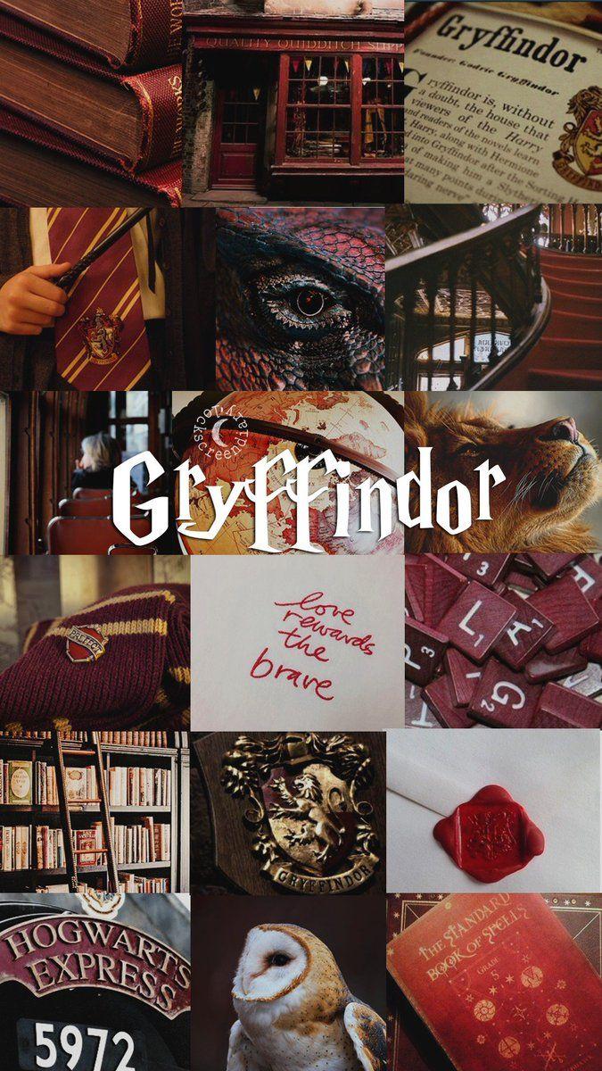 Gryffindor Harry Potter Wallpaper Harry Potter Aesthetic Harry Potter Background