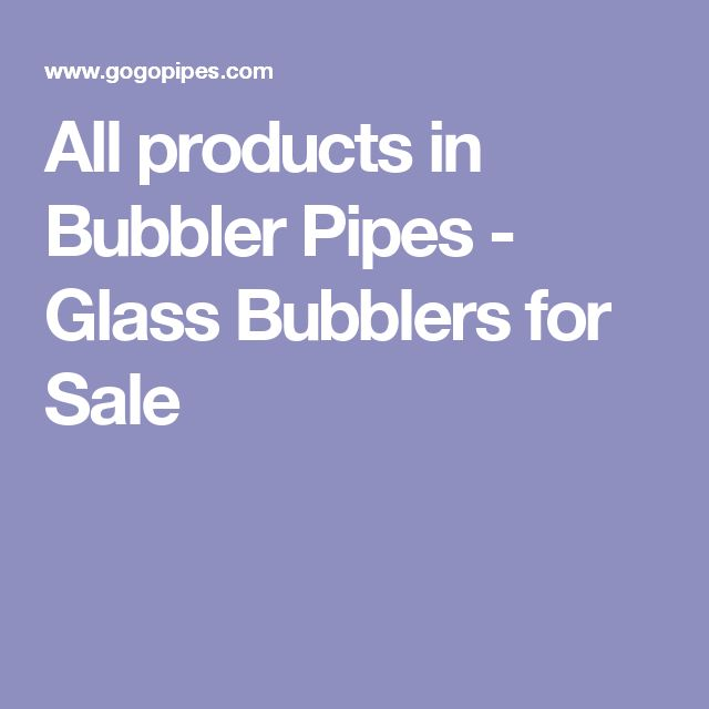 All products in Bubbler Pipes - Glass Bubblers for Sale