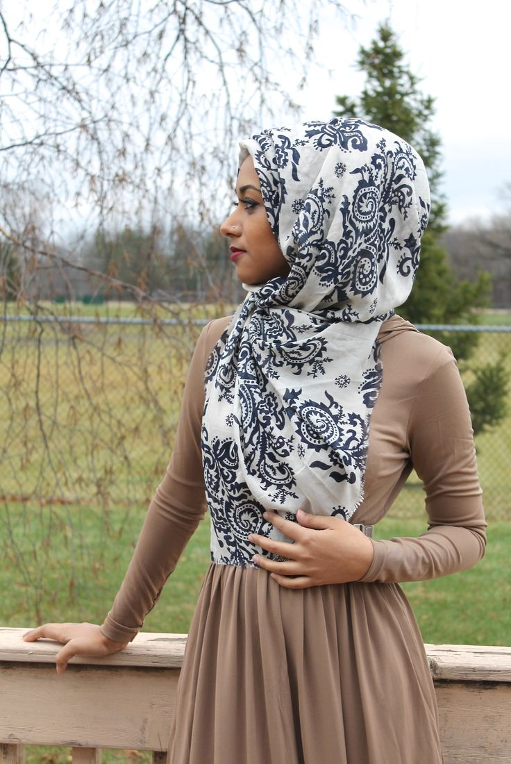 Love the print hijab!