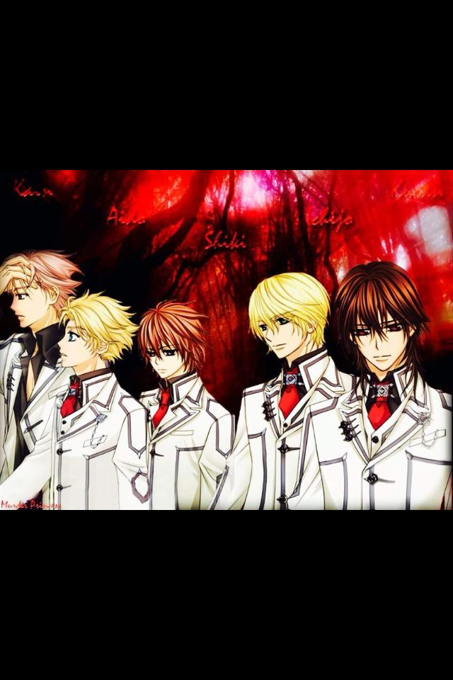 Anime Characters Vampire : Best images about vampire knight on pinterest
