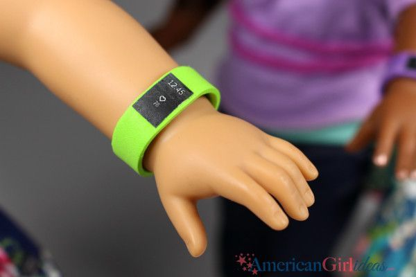 """DIY American Girl Fitbit Guys, I honestly don't know why I waited so long to craft the American Girl Doll fitbit. It is the easiest craft ever! The requests for this started coming in over two years ago! Every time I read the request I thought, """"oh yeah, that's a good idea"""", and then it …"""