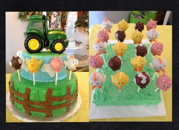 Baby Shower John Deere Cake