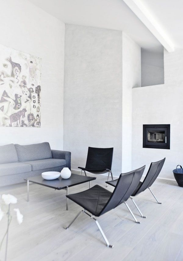 Denmark-based Norm Architects recently took some big steps forward with this inspiring light color architecture, located north of Copenhagen. This contemporary slope house is situated on five small plateaus connected...