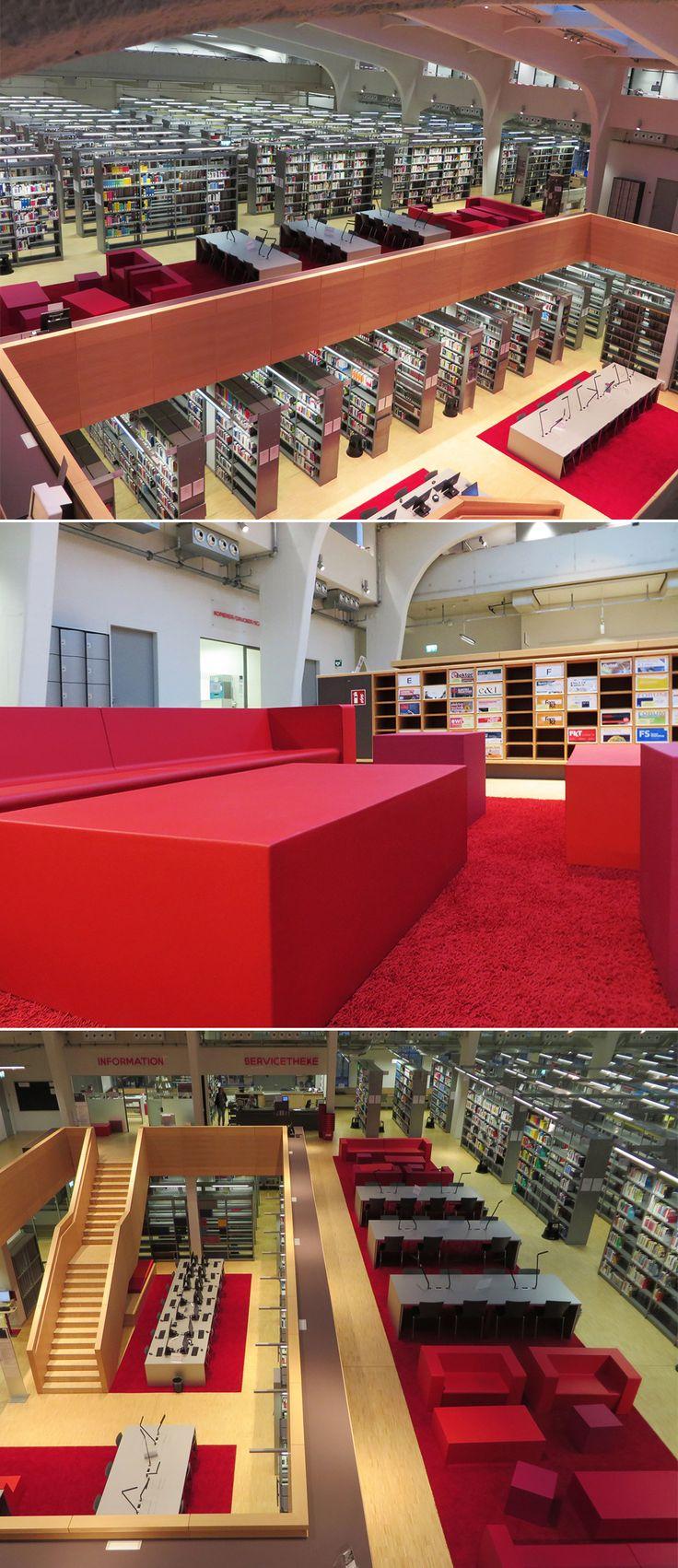 Grau ist alle #Theorie? Nicht in der #Düsseldorfer Uni-Bibliothek, wo farbenfrohe Möbel zusammen mit unserer LOFT eine willkommene Abwechslung bieten. Schick! © TOUCAN-T #teppich #teppichboden #akustik #buero http://www.toucan-t.de/de/produkte/produkte  Gray is all theory? Düsseldorf's university library shows the opposite, where colorful furniture and our LOFT offer a welcome change. Fancy! © TOUCAN-T #office #carpet #acoustics http://www.toucan-t.de/en/products/products