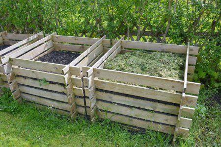 DIY: composteira em três fases com pallets. Veja no blog!