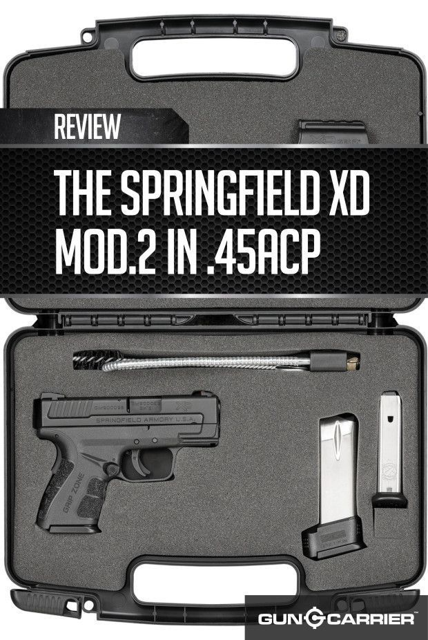Springfield XD Mod.2 in .45ACP by Gun Carrier at http://guncarrier.com/springfield-xd-mod-2-in-45acp