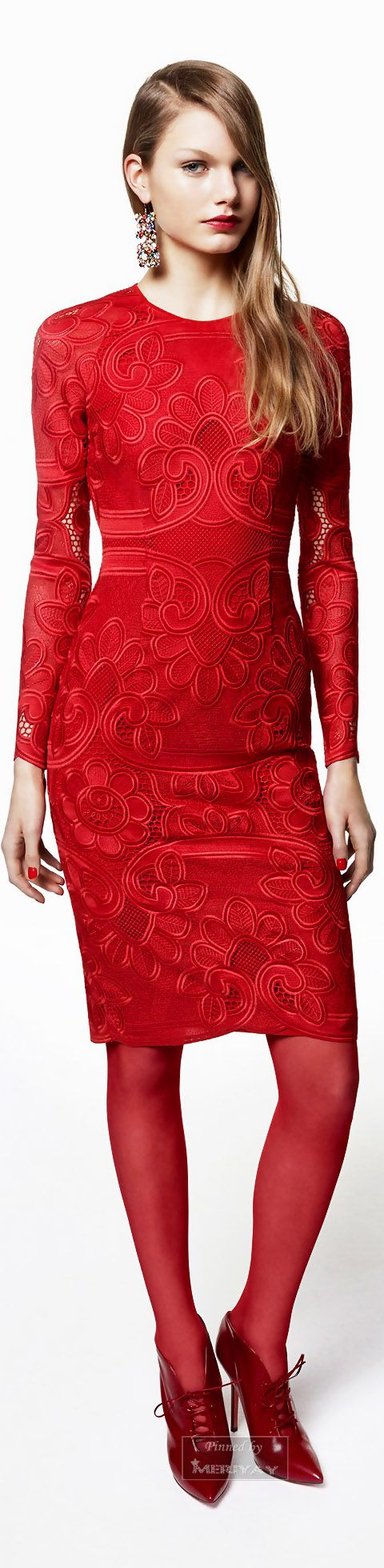 Blumarine.Pre-Fall 2015. women fashion outfit clothing style apparel @roressclothes closet ideas
