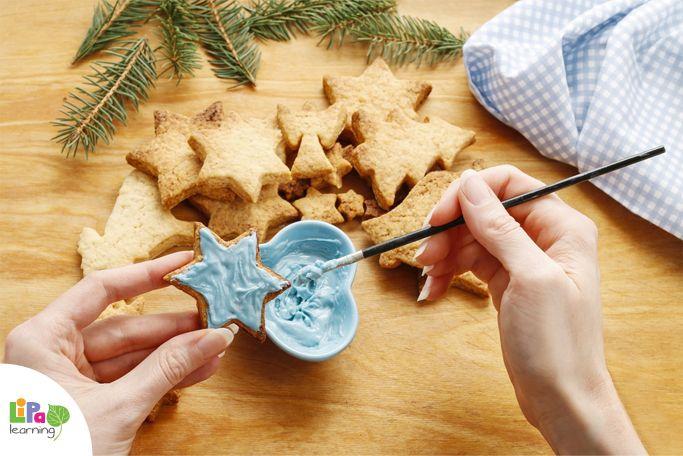 How to make edible Christmas tree ornaments?
