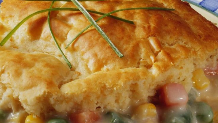 Impossibly Easy Chicken Pot Pie recipe and reviews - This pot pie ...