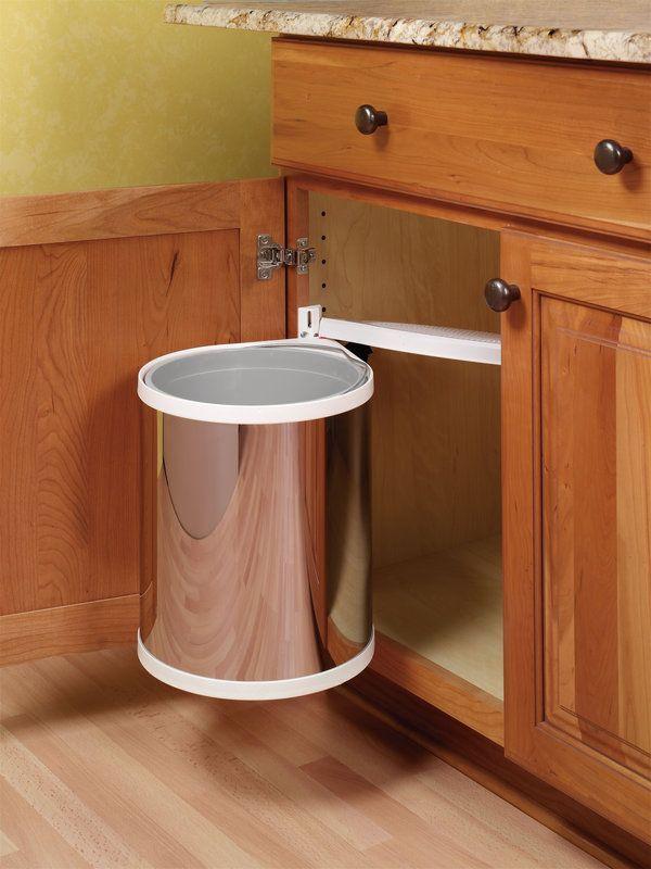 Hafele 502 12 023 Panel Doors Kitchen Trash Cans
