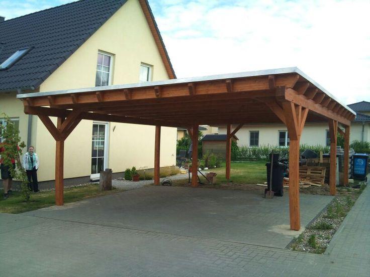 Referenzen Carports Holz Carport Und Terrassenüberdachng