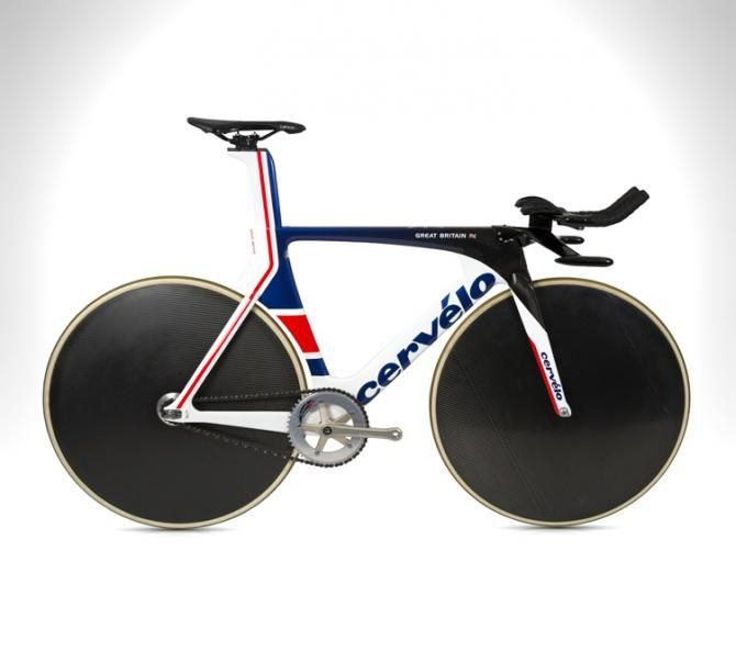 The Cervelo T5GB for Great Britain at the Rio Olympic Games