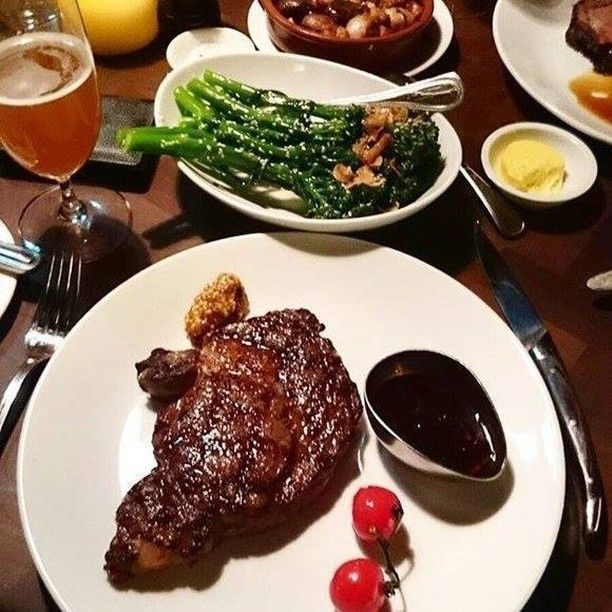 Your Saturday evening could look this tasty too. #cutbarandgrill #steakhouse #therocks #sydney