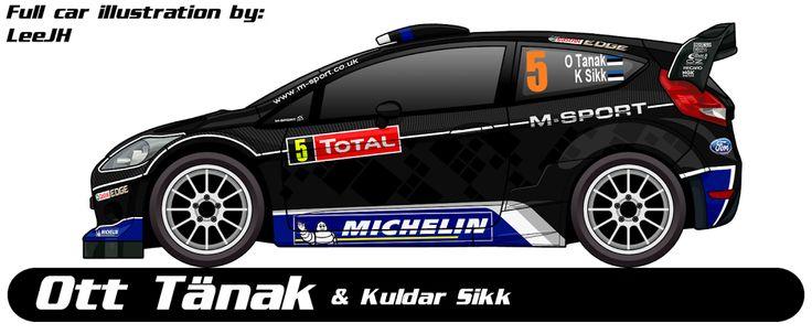 WRC | FORD | #5 | Ott Tänak - Kuldar Sikk ( All )