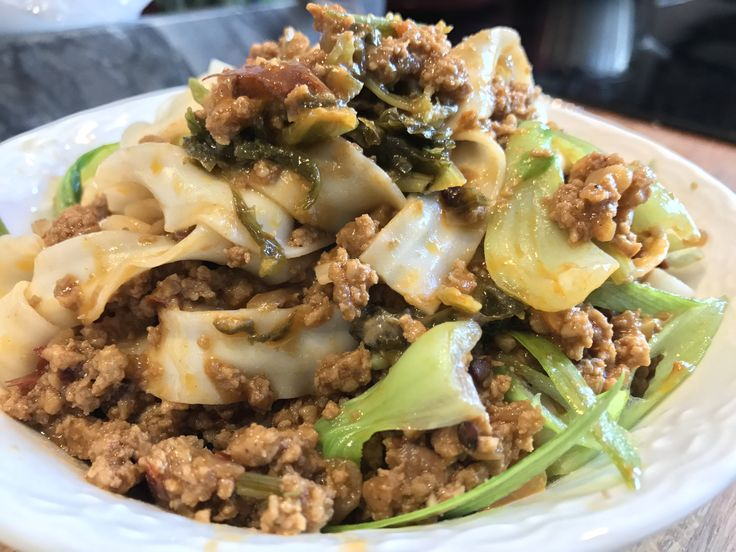 These rich, spicy and fragrant minced pork Szechuan style zha jiang mian (zhajiang noodles) just might have you screaming for 3 more bowls and a case of cold beer!