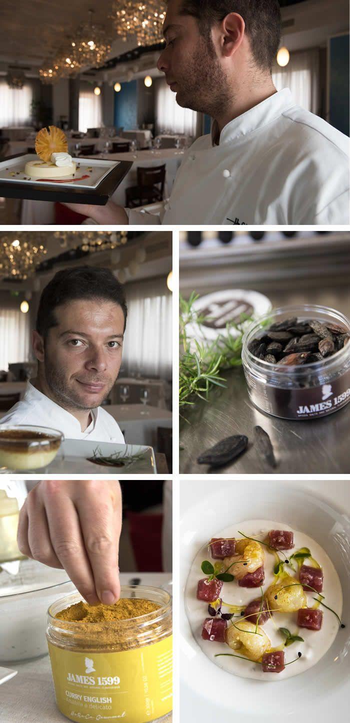 Una cucina tradizionale ma che guarda al futuro grazie alle nuove generazioni, quella del ristorante Il Cambusiere di Ortona. Lo chef Matteo D'Intino ci mostra i suoi magnifici piatti, resi ancora più magici grazie alle spezie James 1599.
