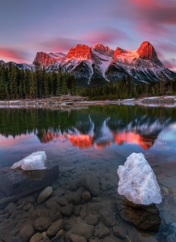 RED LIGHT MOMENTS - Canmore, Alberta Canada