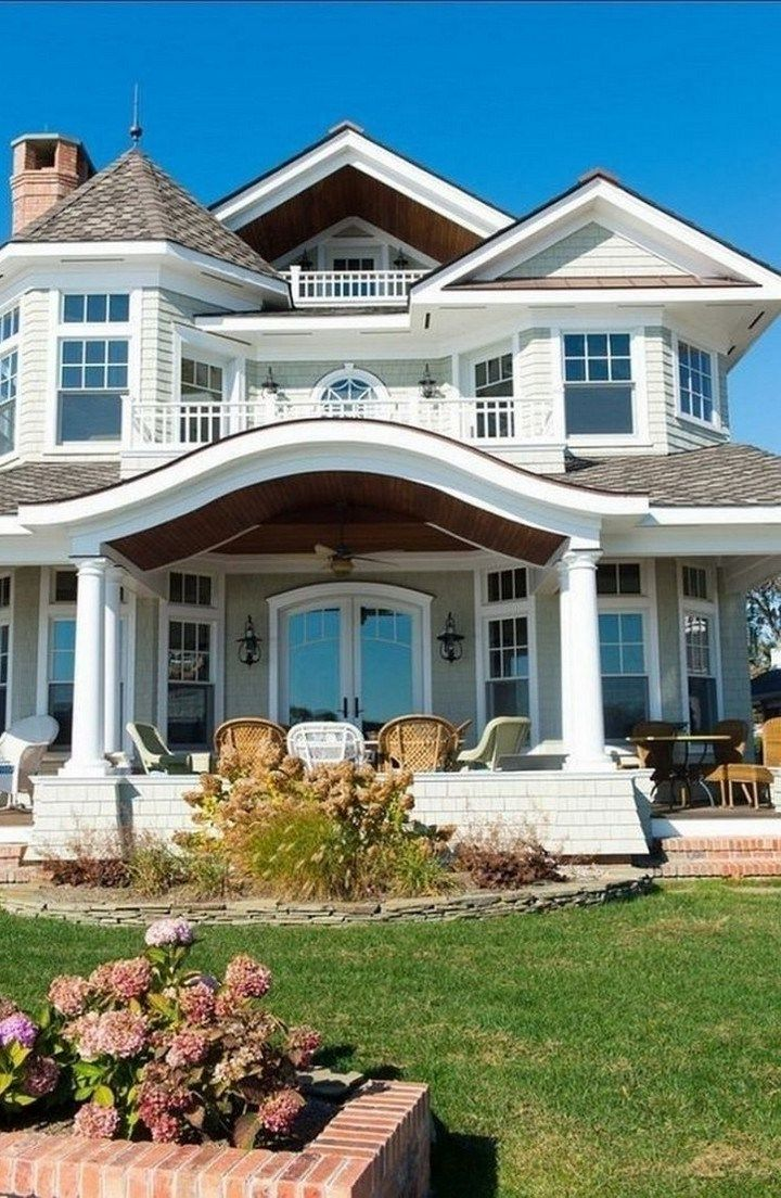 22 Awesome House Exterior Design You Can Check 04 House Designs Exterior Exterior Design Dream House Exterior