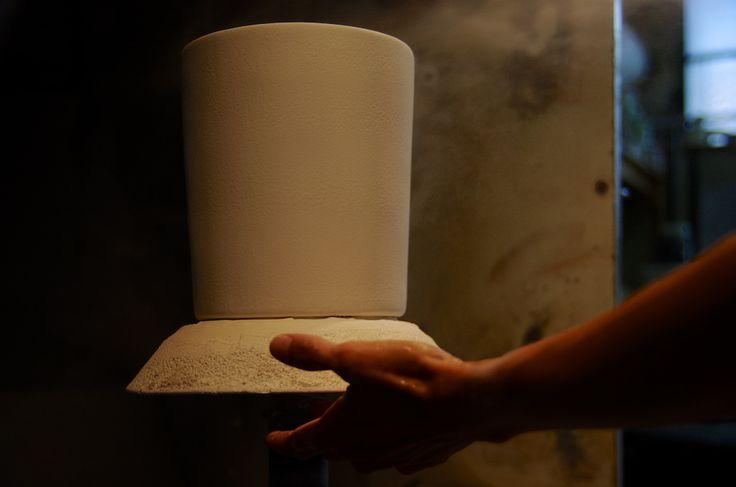 Manufacture, émaillage  Virebent Porcelaine du Lot
