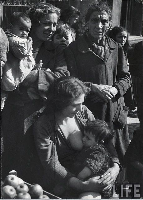 Poor in Naples, Italy, 1944, by George Rodger | Flickr - Photo Sharing!