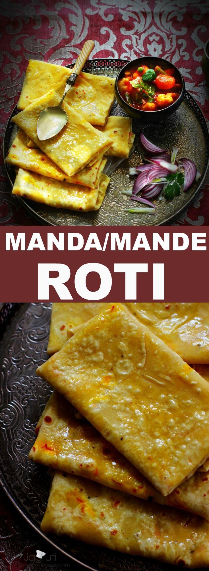 How to make manda Roti.