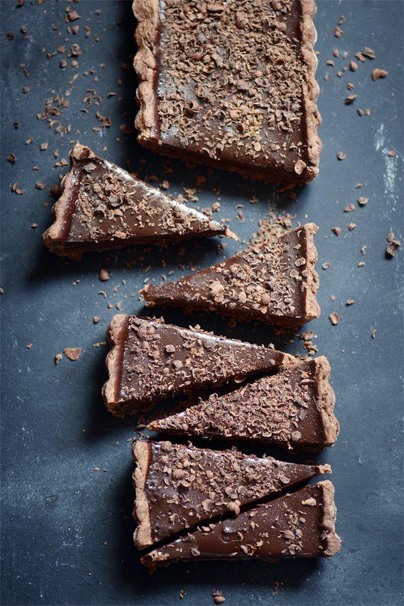 Tarte au chocolat | Madame Gateau