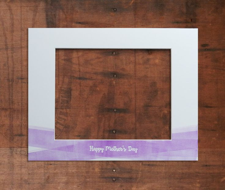 Available until April 17th - So Act Fast! Letterpress Mother's Day Mats Coming April 11th!