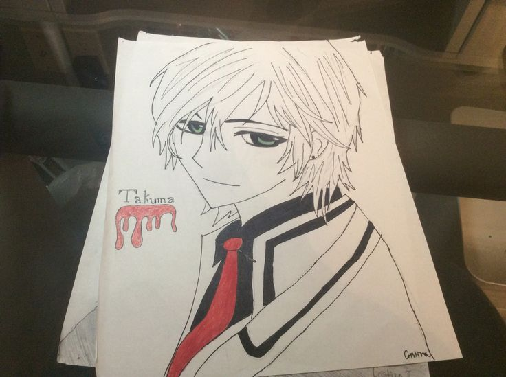 Takuma from Vampire Knight