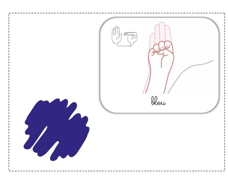 bleu LSF illustration